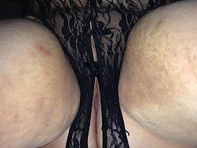 wife: wife in lingerie